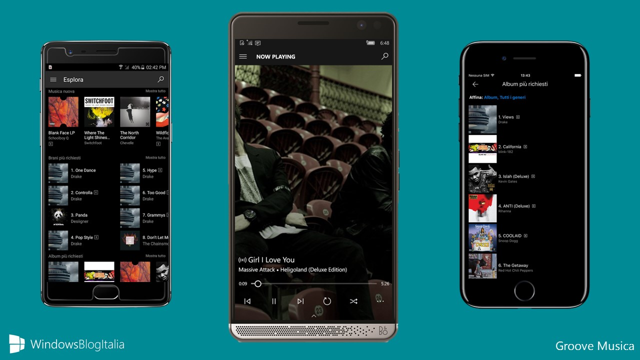 Microsoft Groove app Android iOS