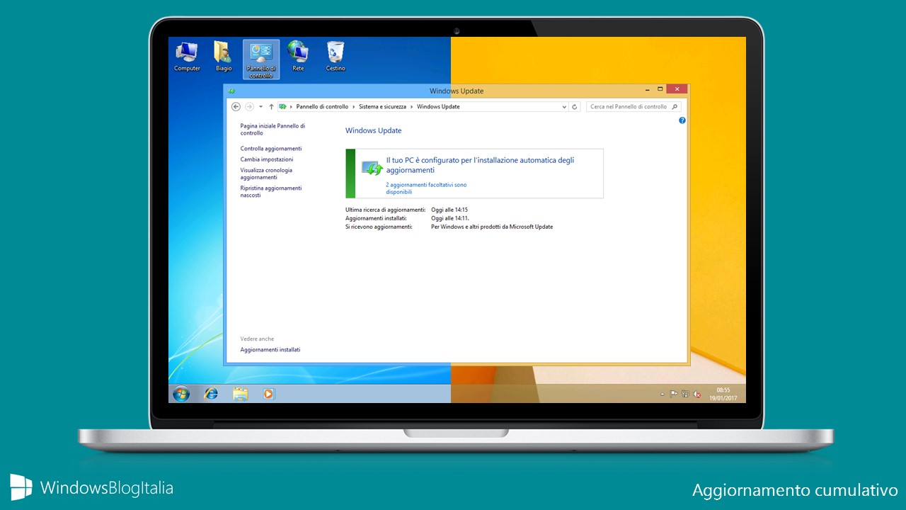 Aggiornamento cumulativo - Windows 7 e Windows 8.1