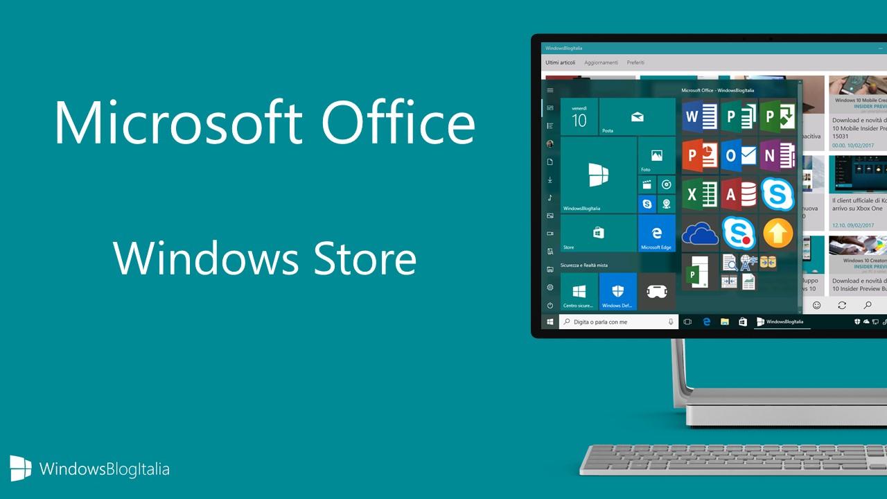 Microsoft Office - Windows Store