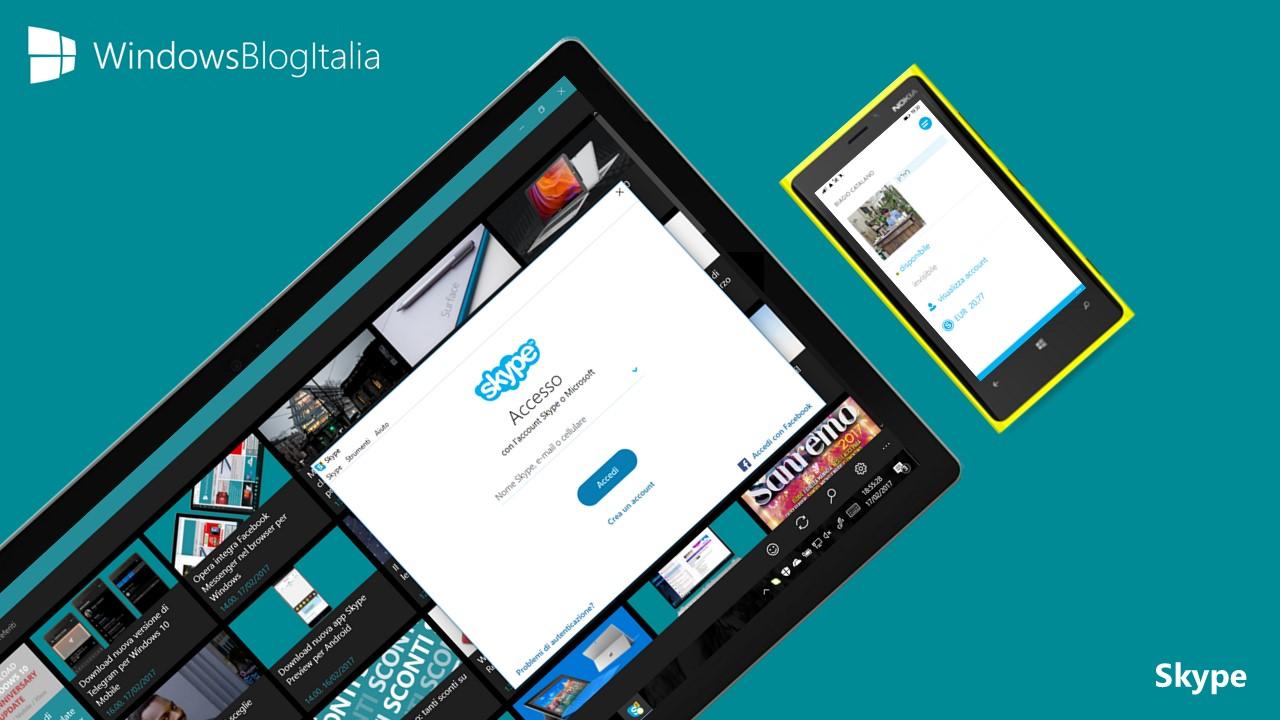 Addio da oggi alle vecchie versioni di Skype
