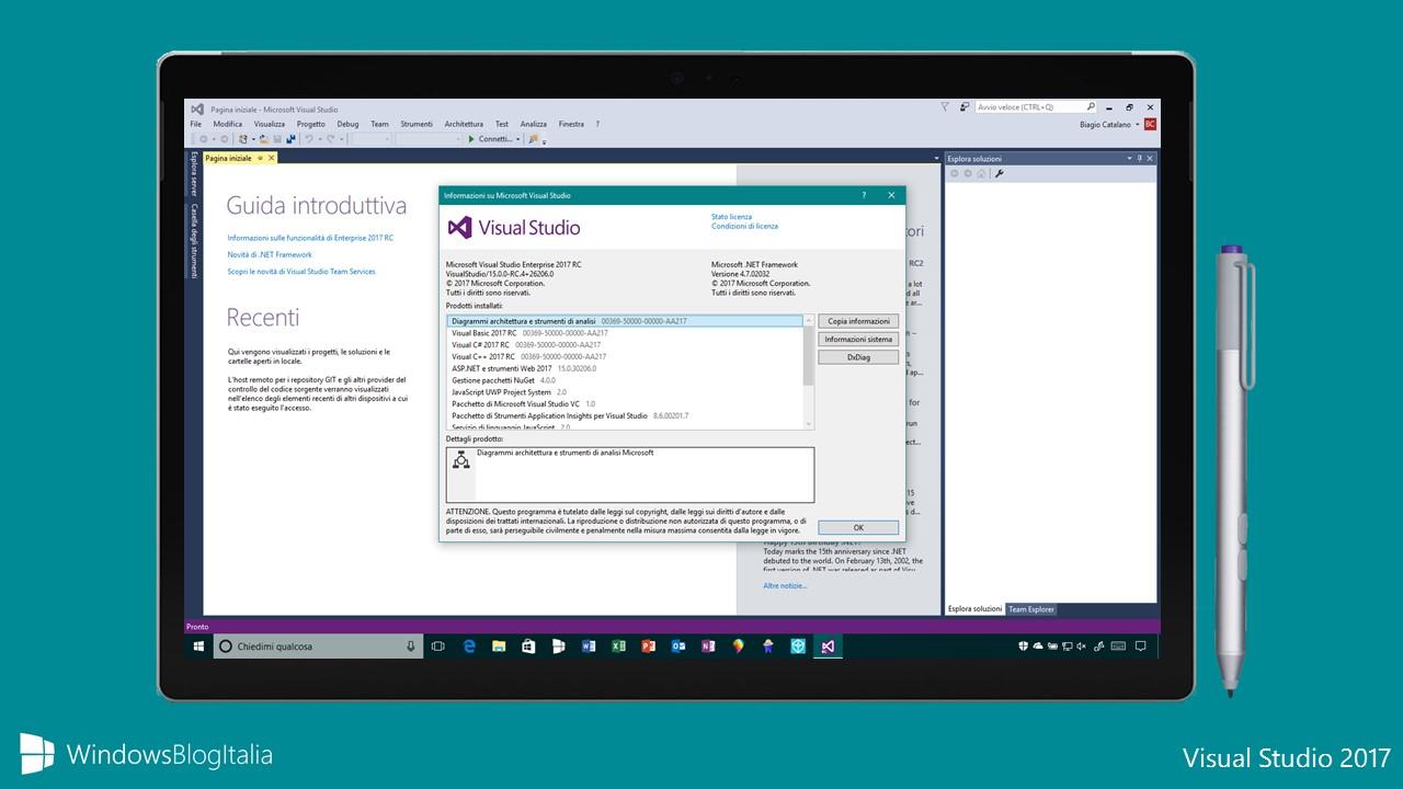 Visual Studio 2017