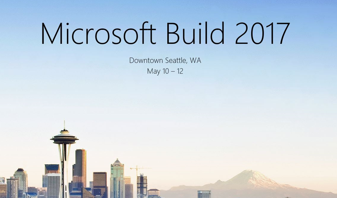 Build 2017 - Seattle - May 10-12