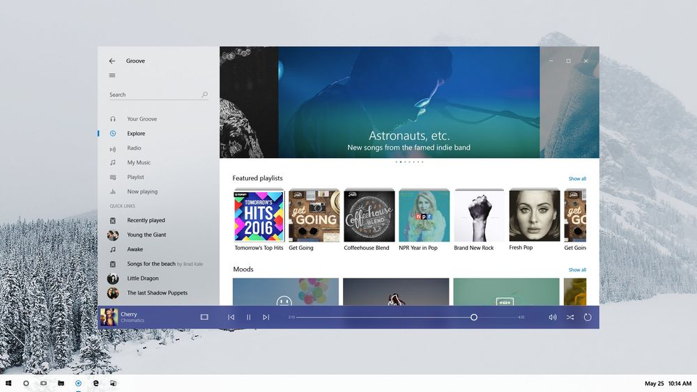 Neon, la nuova interfaccia per Windows 10