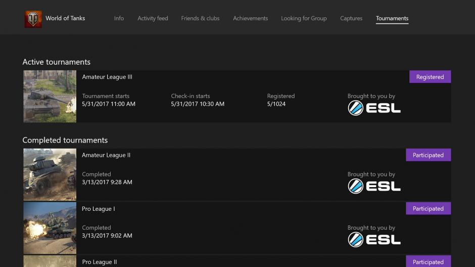 Nuove funzionalità xbox live