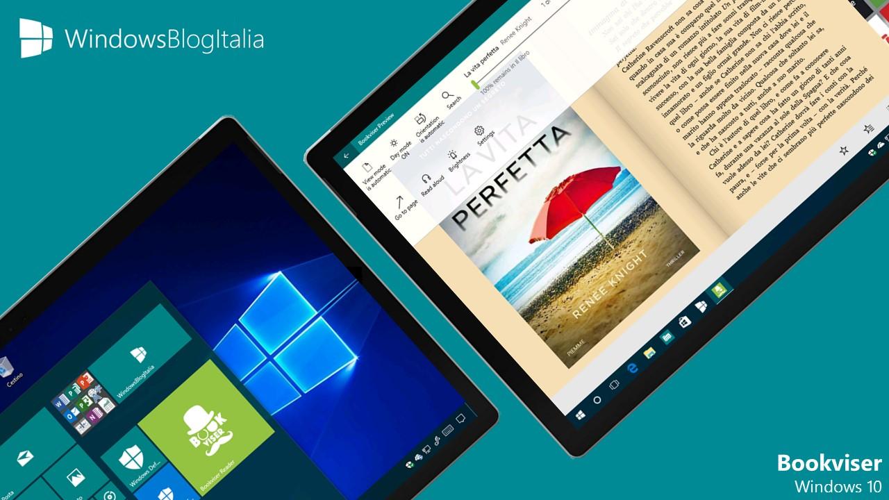 Bookviser Reader - PC e tablet Windows 10