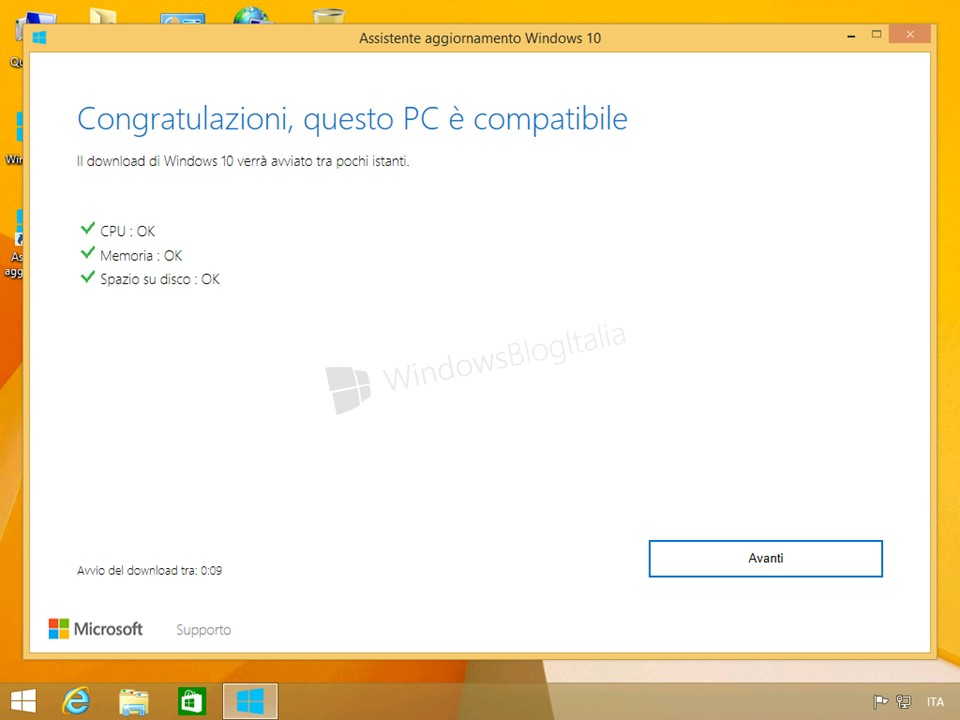 assistente gratuito windows 8.1