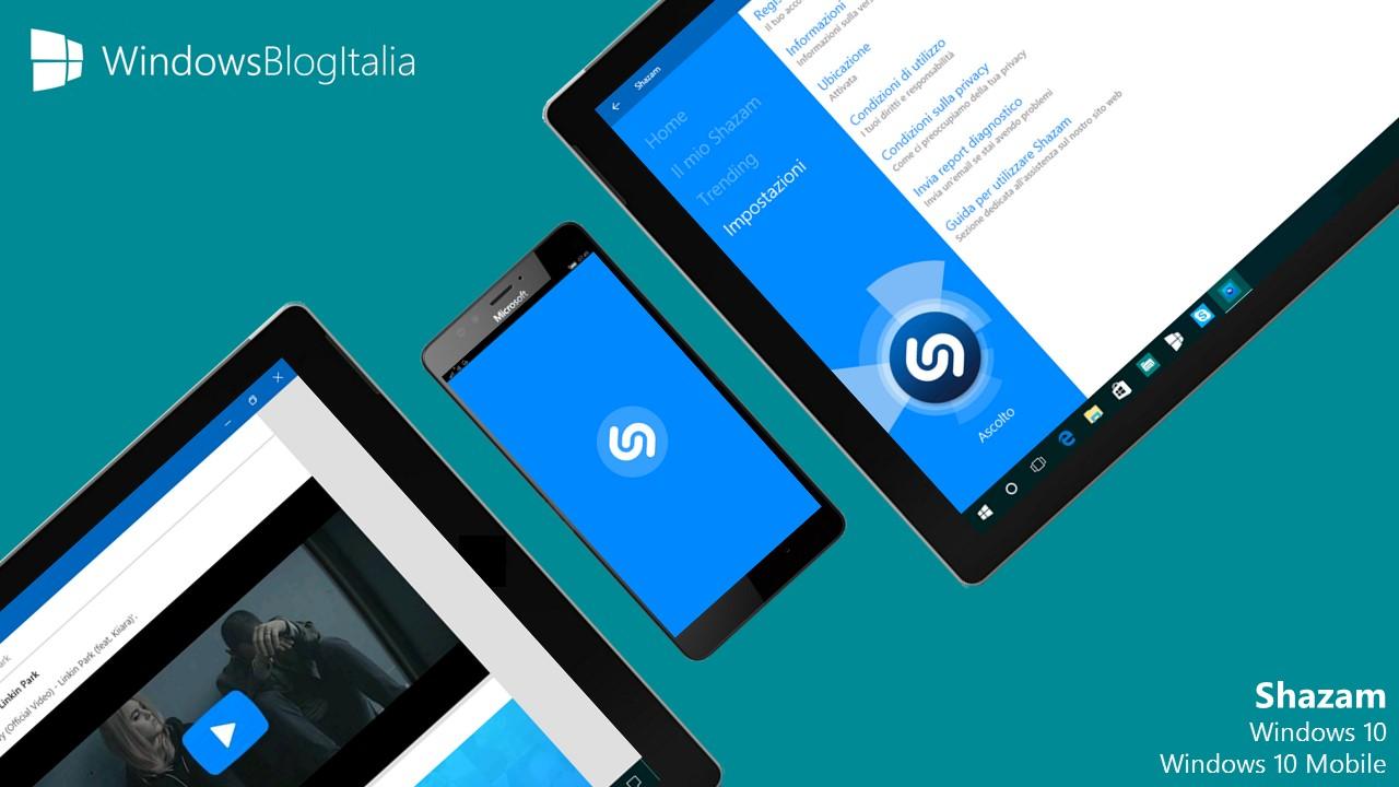 Shazam - Windows Store