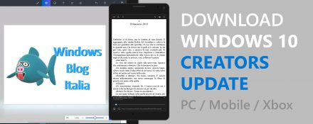 Windows 10 Creators Update multipiattaforma