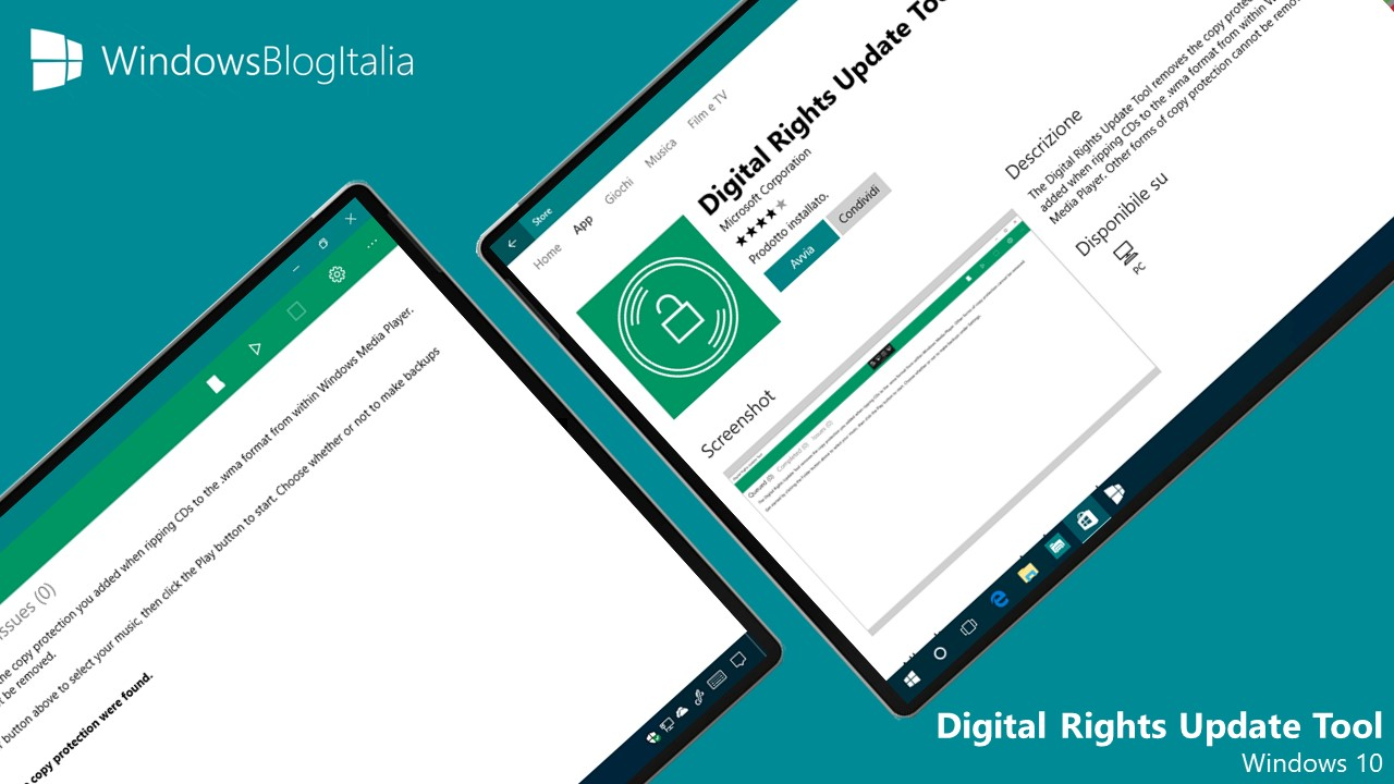 Digital Rights Update Tool