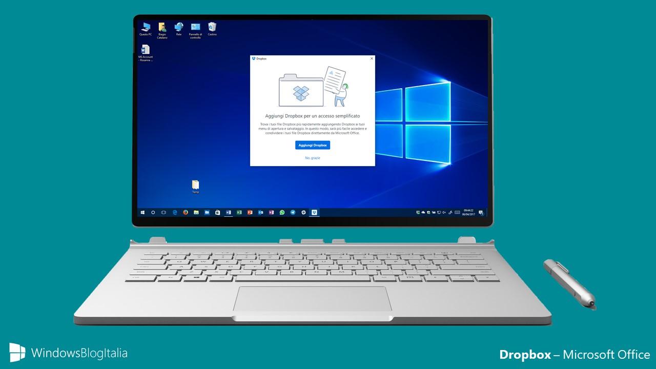 Dropbox - Microsoft Office