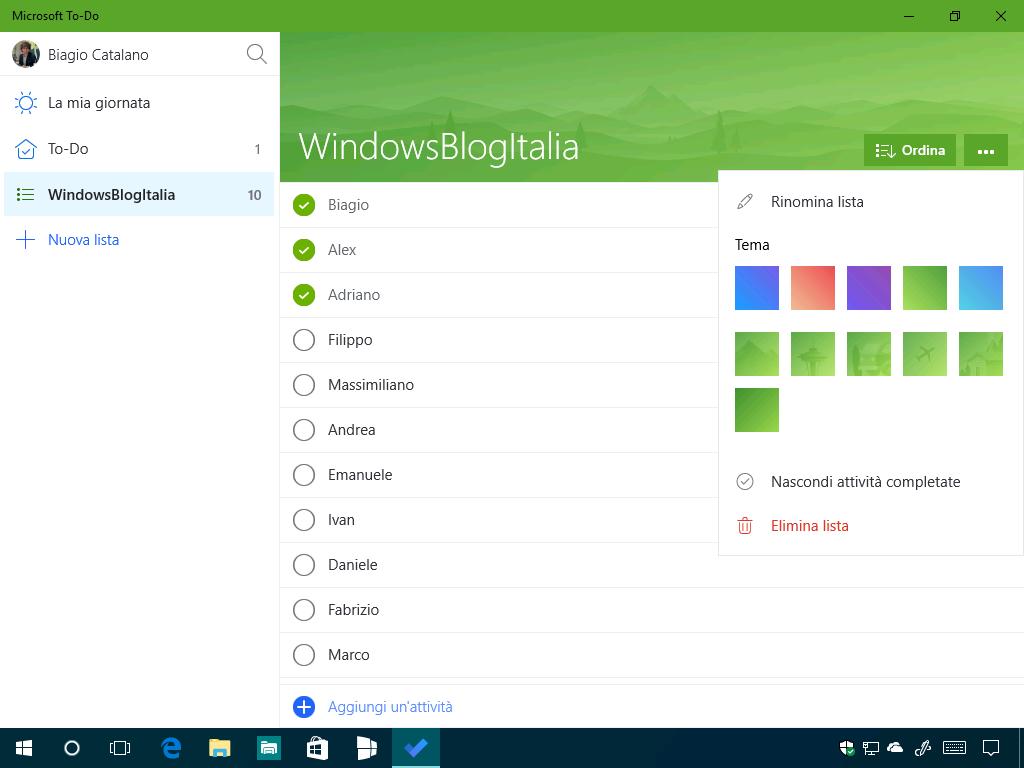microsoft to do windows 10