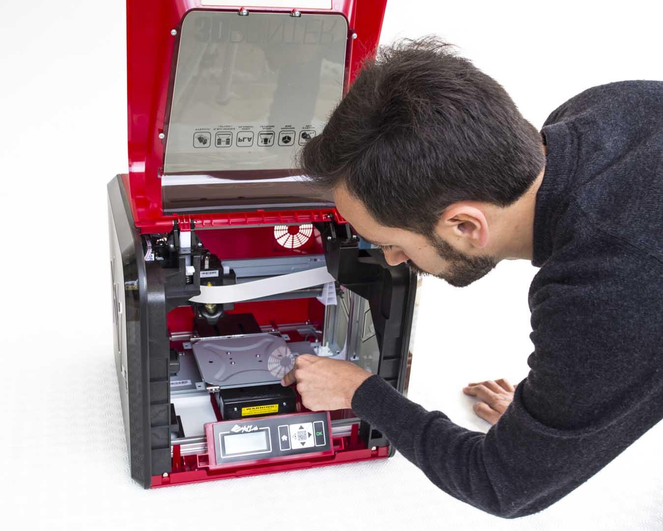 Unboxing XYZprinting Da Vinci Jr. 1.0 Pro Adriano Alfaro