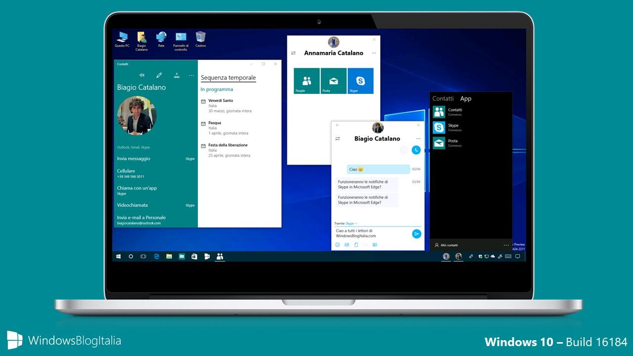 Windows 10 Build 16184