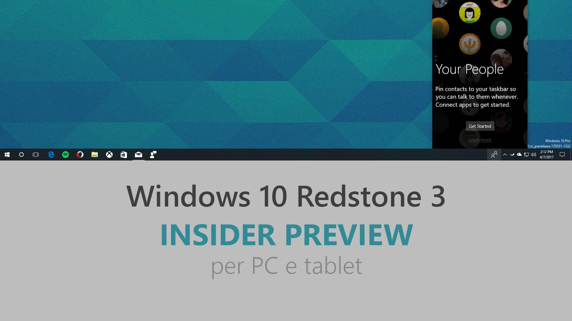 Windows 10 - Redstone 3