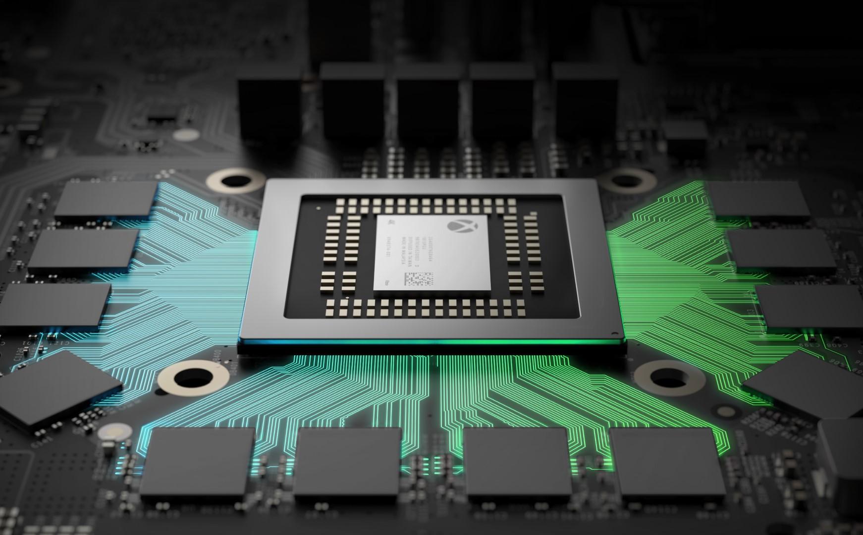 Xbox One X prestazioni chipset