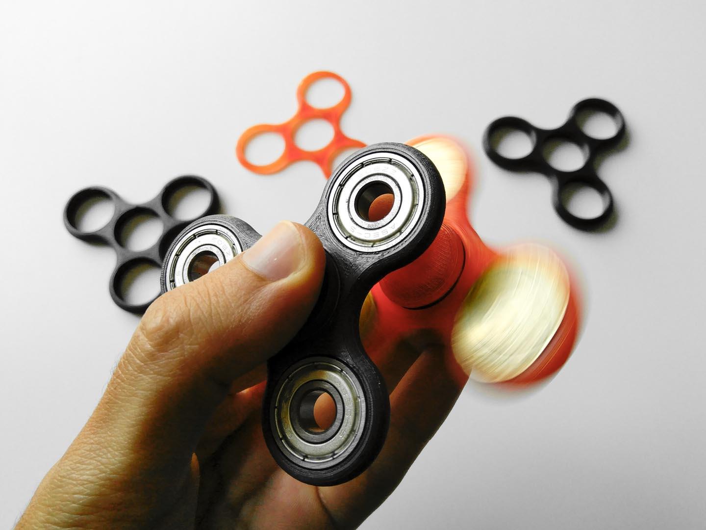 Fidget spinner stampati 3D
