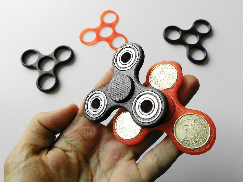 Guida per stampare 3D fidget spinner