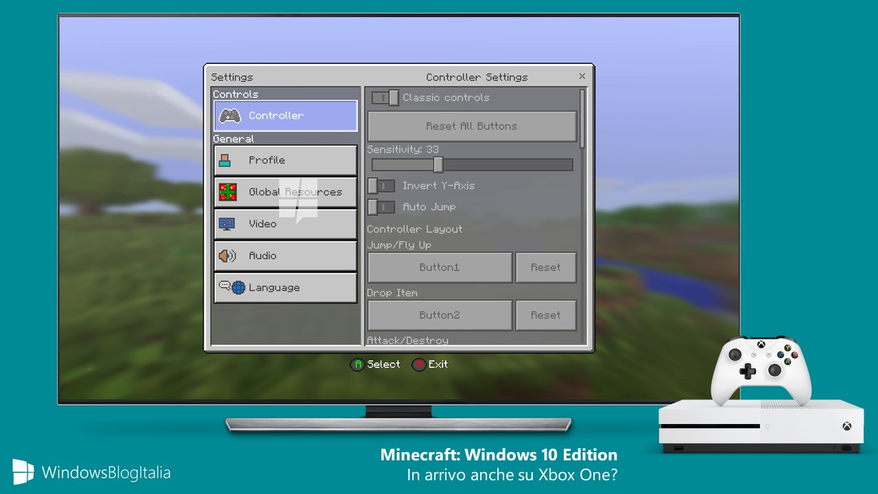 Minecraft Windows 10 Edition Xbox One Project Scorpio