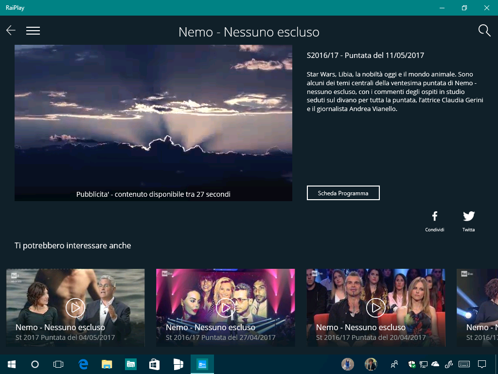 raiplay per pc gratis