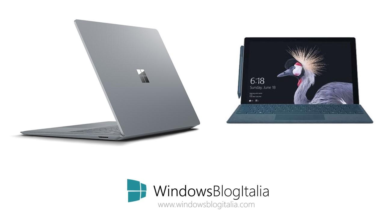 Surface Pro e Surface Laptop - Microsoft Store