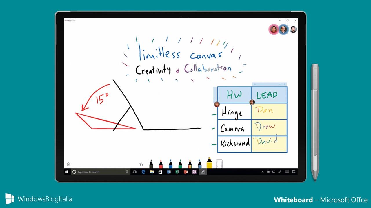 Microsoft Whiteboard - Office 365