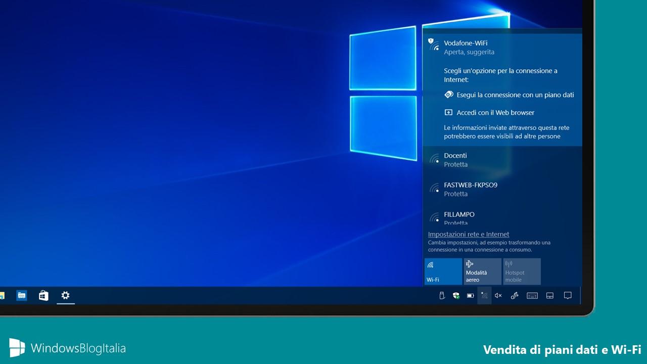 Vendita piani dati e Wi-fi - Microsoft Store