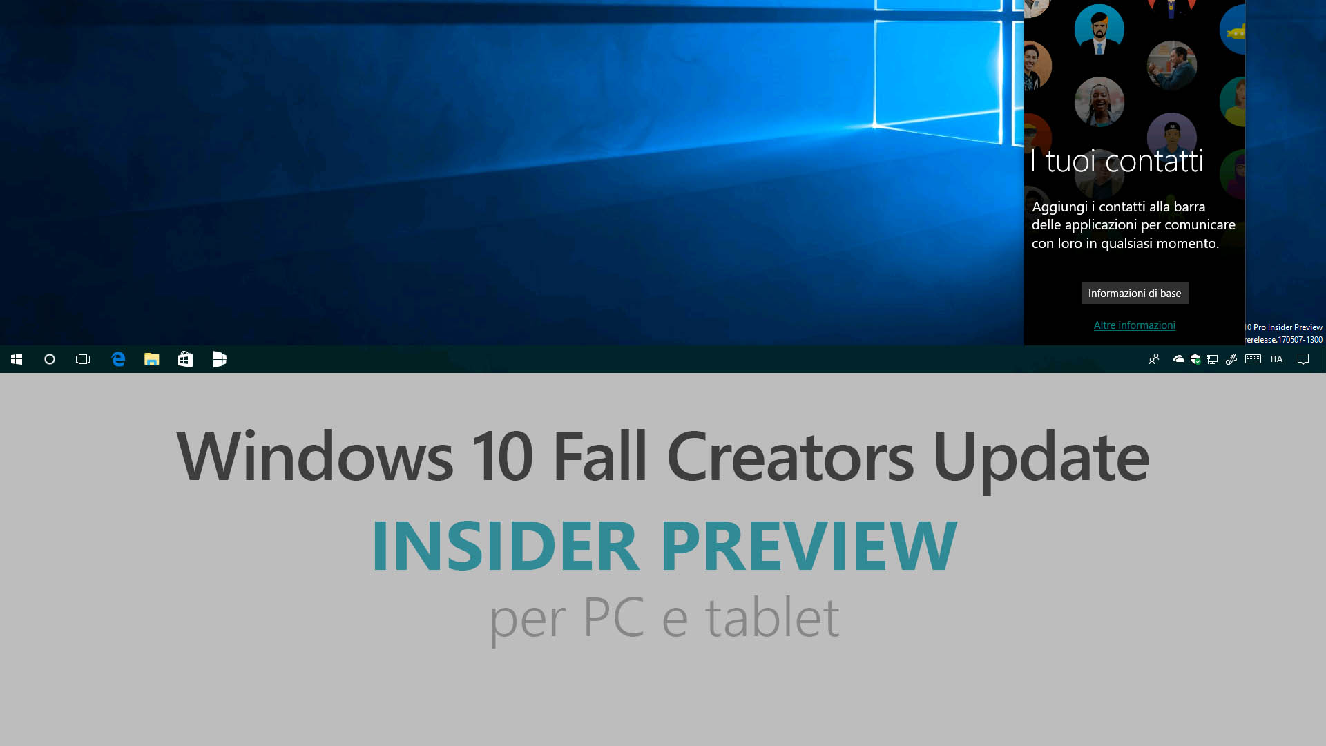 Download e novit di windows 10 insider preview build 16215 for Windows 10 update