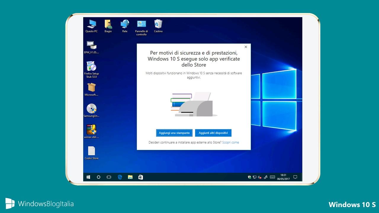 Windows 10 S - Chromebook