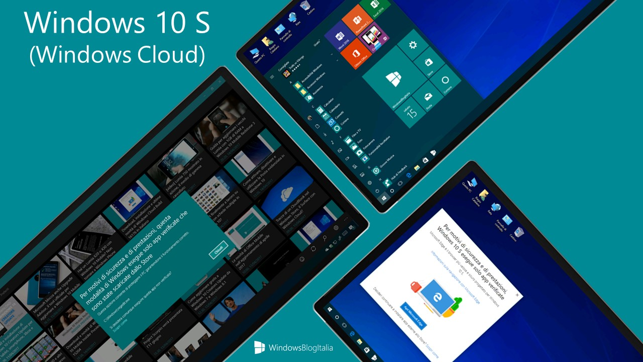 Windows 10 S - Windows Cloud