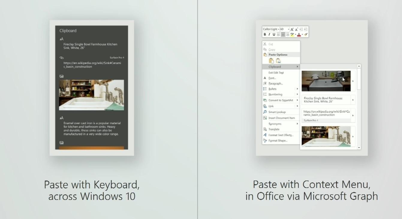 Clipboard - Windows 10 Redstone 4