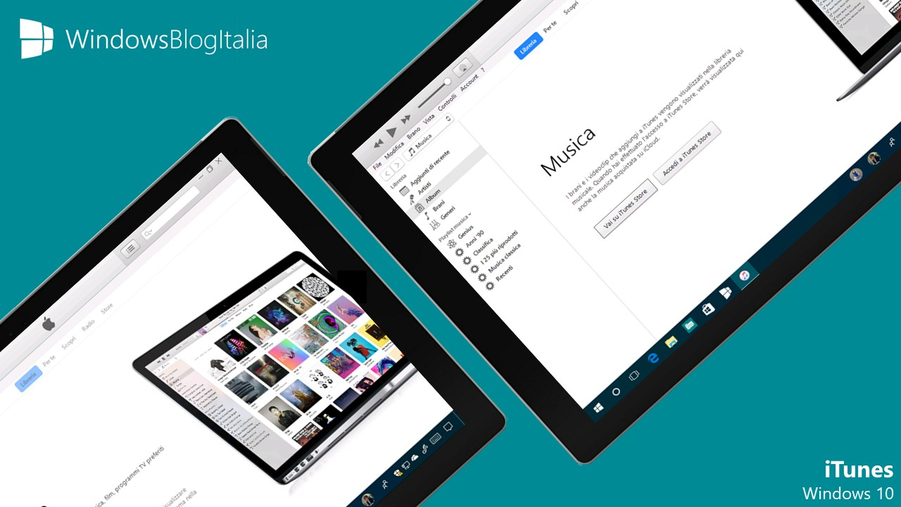Download iTunes per Windows 10 dal Microsoft Store