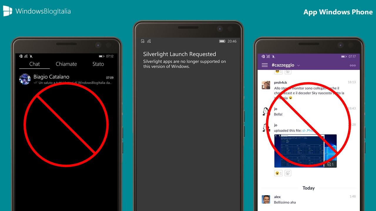 Addio app Windows Phone