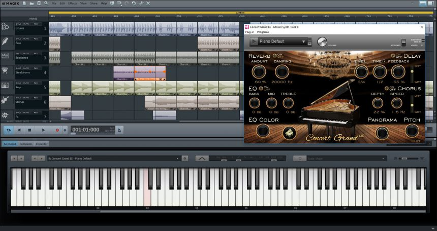Music Maker Plus, l'eccellente editor musicale per PC e tablet