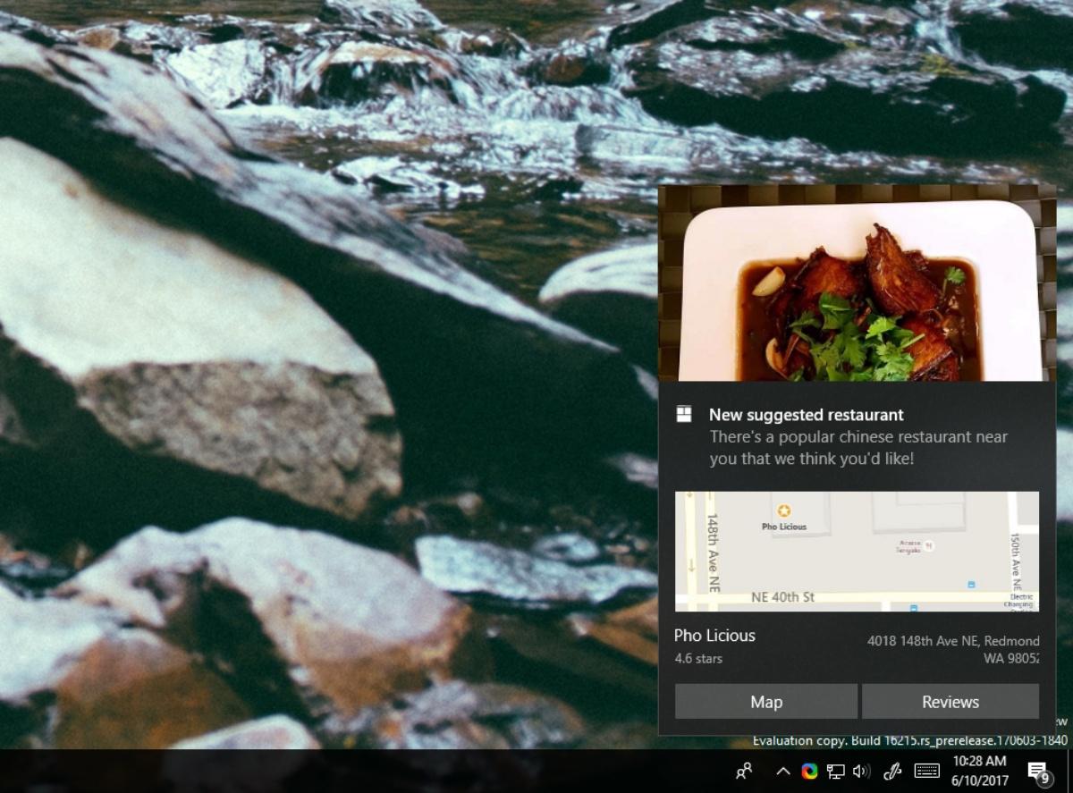 Windows 10 notifiche interattive multi-step