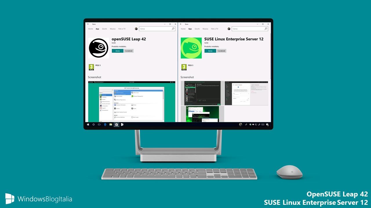openSUSE Leap 42 + SUSE Linux Enterprise Server 12