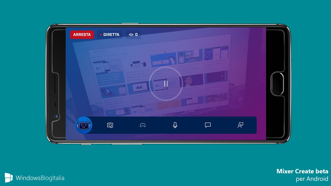 Download Microsoft Mixer Create beta app Android