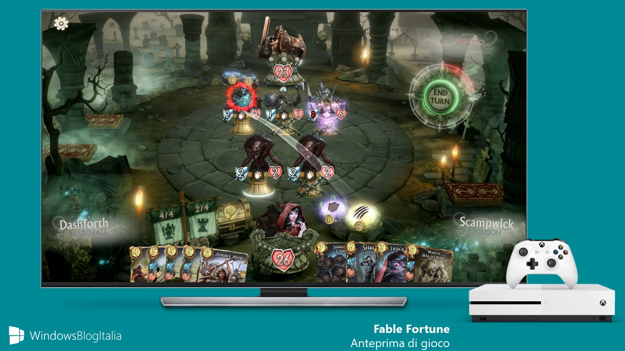 Fable Fortune Xbox One PC Play Anywhere
