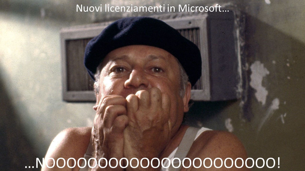 Licenziamenti in Microsoft