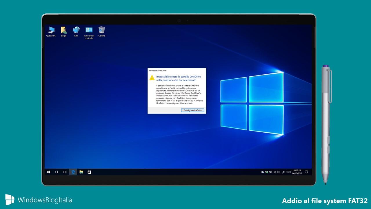 Microsoft pronta a dismettere il file system FAT32