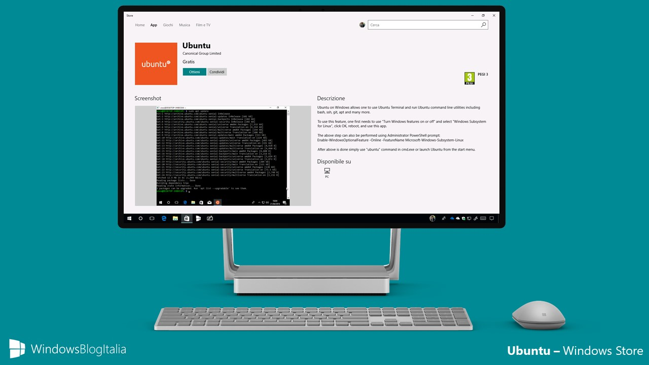 Ubuntu - Windows Store - PC e tablet Windows 10