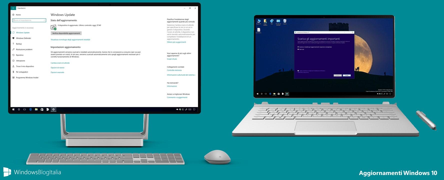 Come verificare se il proprio PC/tablet è in grado di installare la versione più recente di Windows 10
