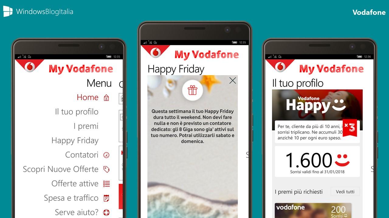 Vodafone regala fino a 40GB