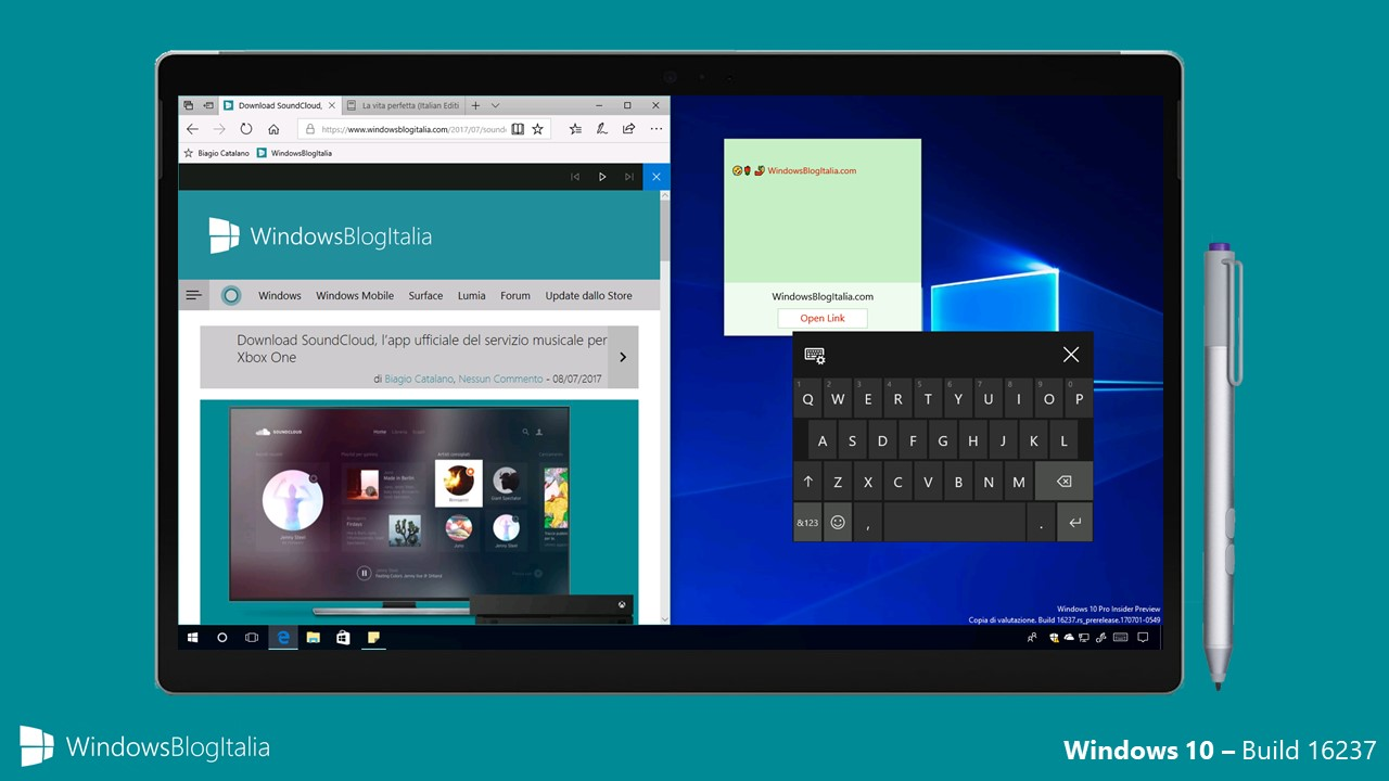 Windows 10 Insider Preview Build 16237