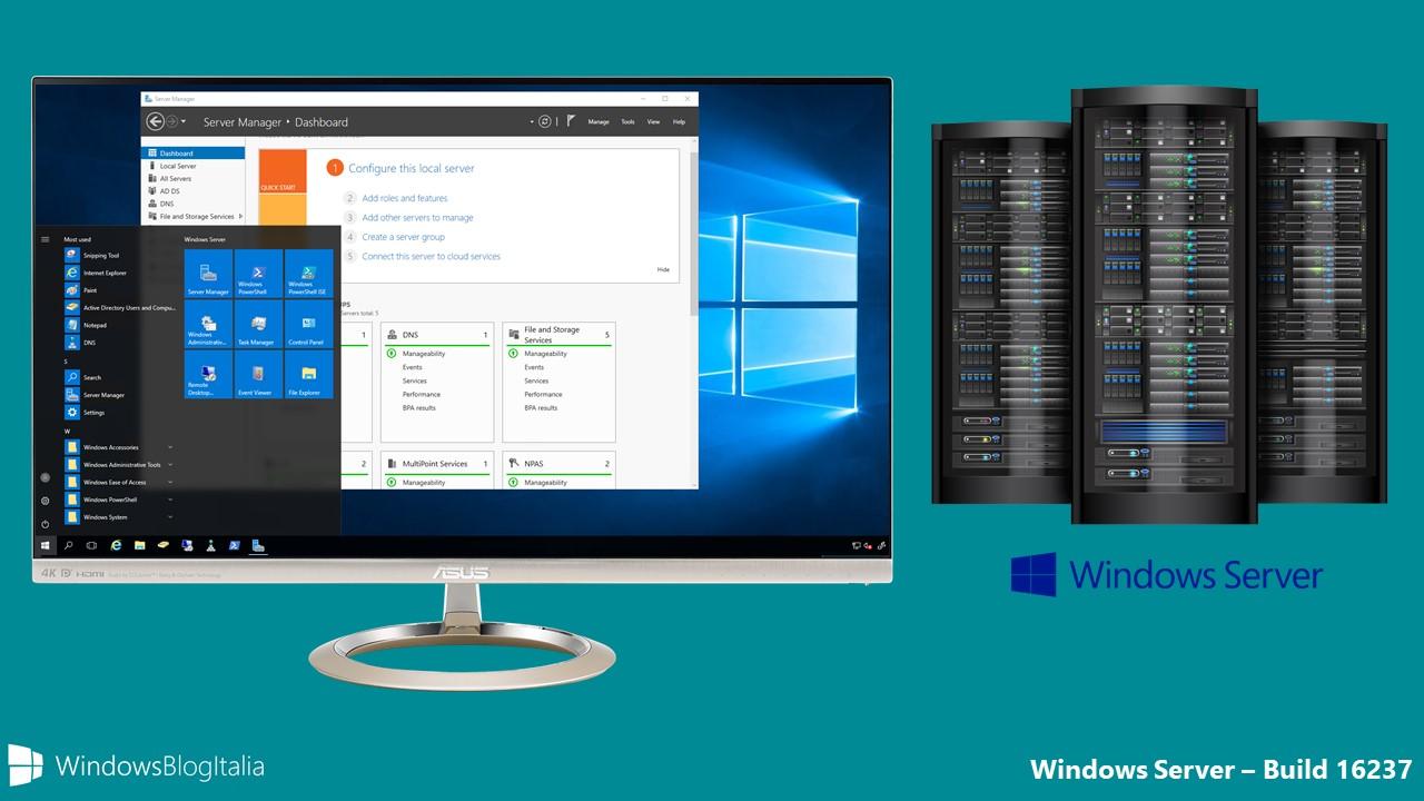 Windows Server Build 16237