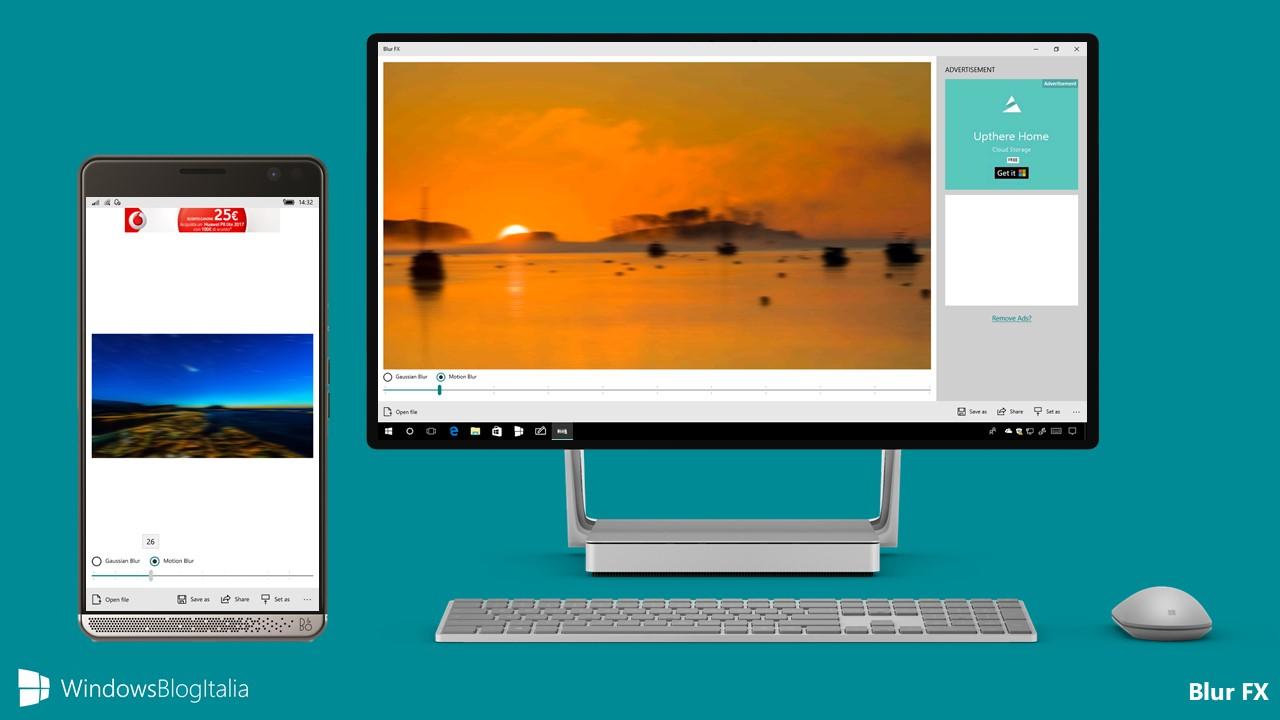 Download Blur FX, l'app per sfocare le foto per PC, tablet e smartphone Windows 10