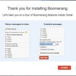 Boomerang for Gmail installazione