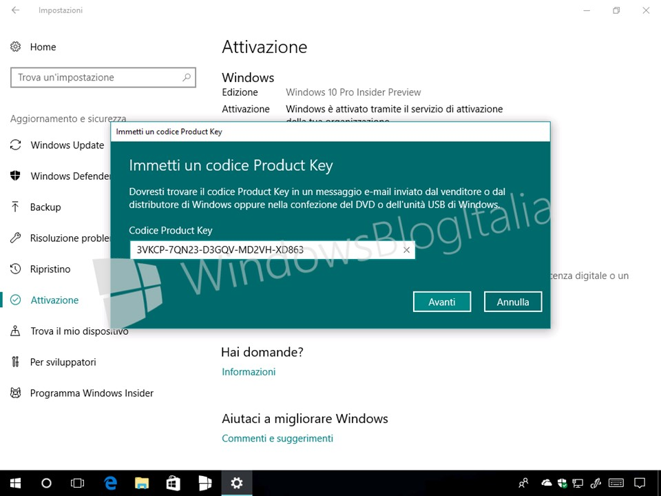 product key for windows 10 home version 1709