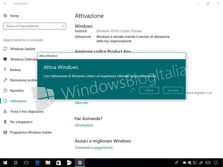 Come installare e attivare Windows 10 Pro for Workstation