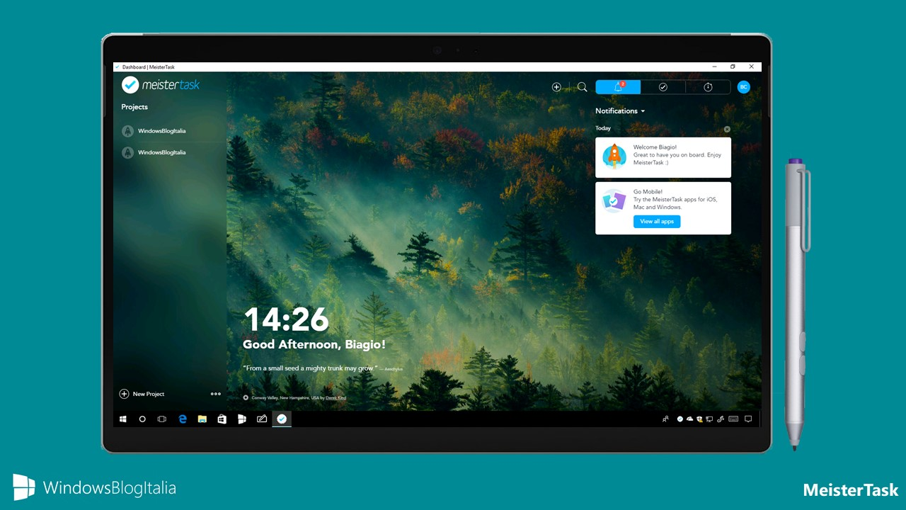 Download Meister Task, l'app per collaborare con amici e colleghi per PC e tablet Windows 10