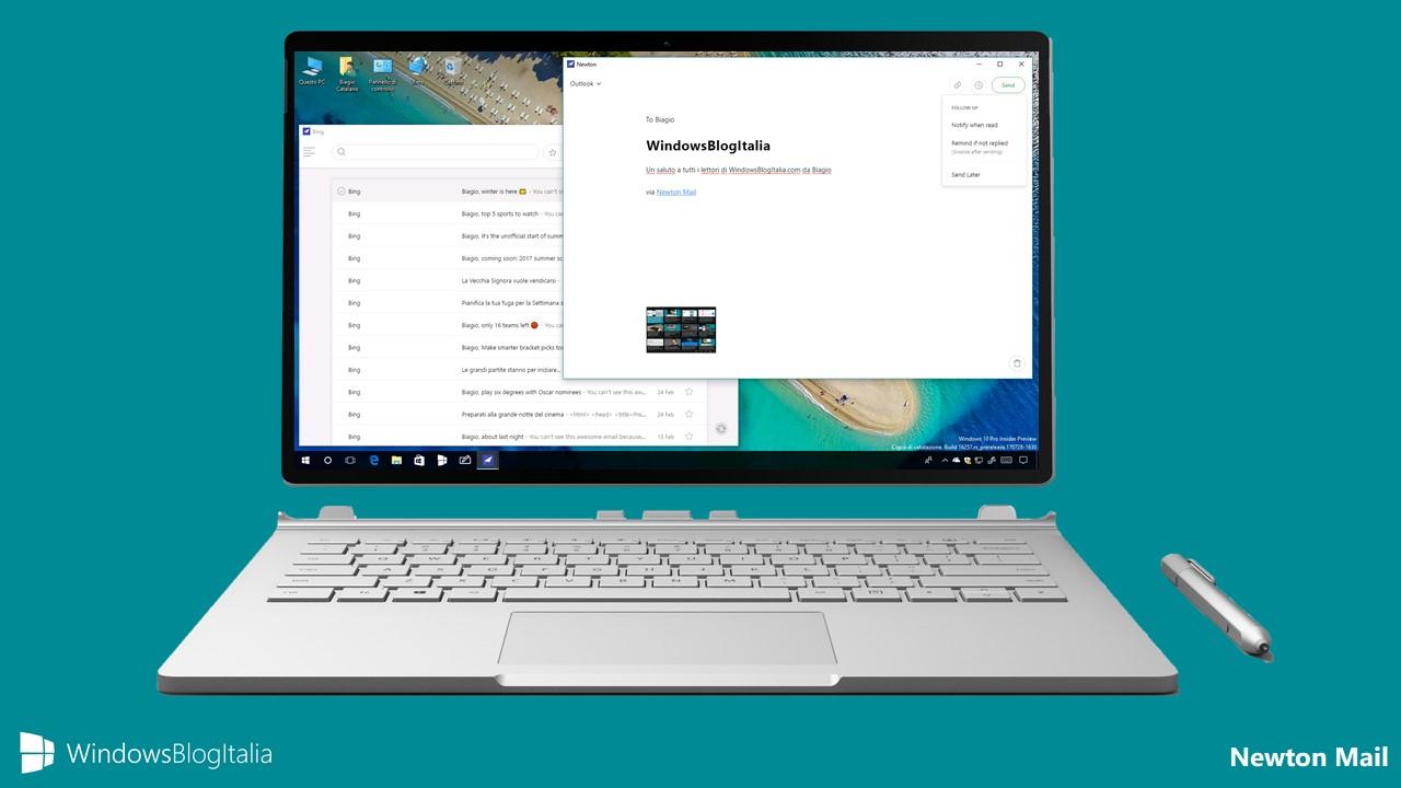 Newton Mail, uno dei migliori client di posta per PC e tablet Windows 10